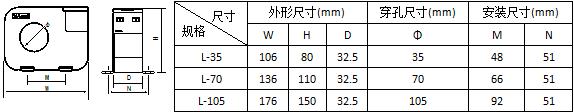 安科瑞AKH-0.66L-45剩余电流互感器,量大从优示例图5