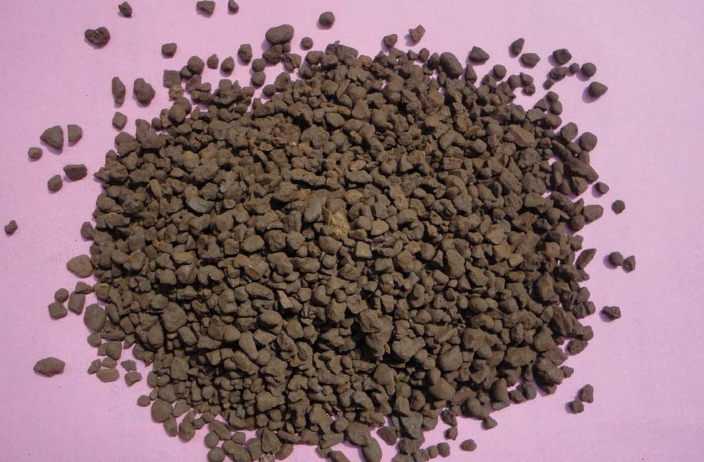 遂宁锰砂滤料,造价低,长效稳定锰砂滤料,地下水处理锰砂滤料示例图1
