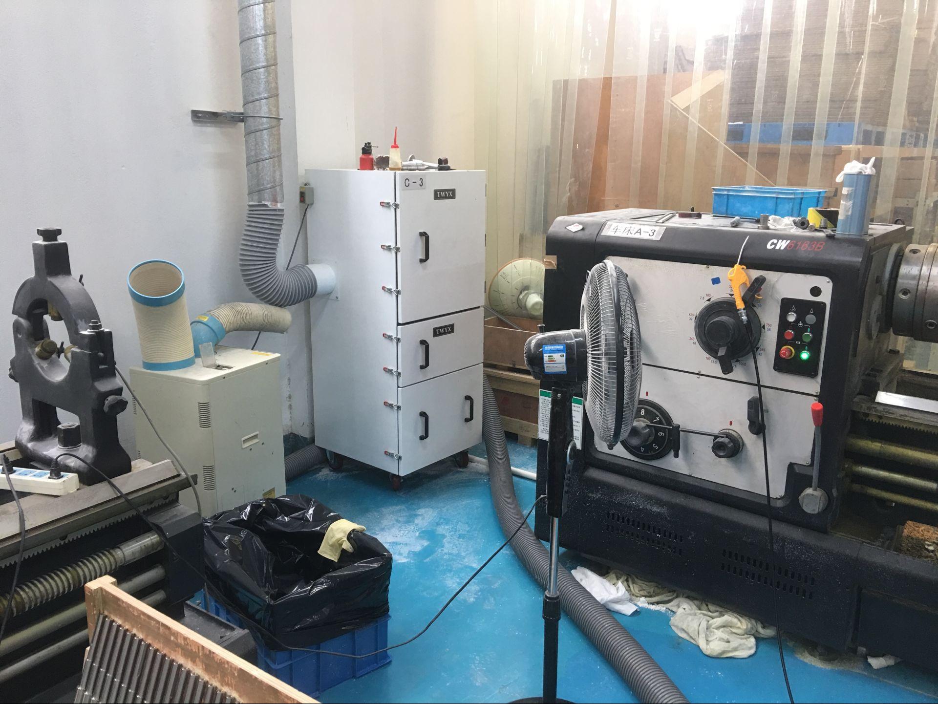 厂家直销磨床吸尘器  0.75kw磨床粉尘除尘器  JC-750-2砂轮机打磨集尘器   机床铝屑粉尘吸尘器移动式示例图8