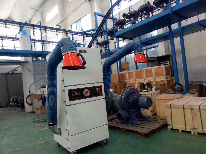 厂家直销磨床吸尘器  0.75kw磨床粉尘除尘器  JC-750-2砂轮机打磨集尘器   机床铝屑粉尘吸尘器移动式示例图10