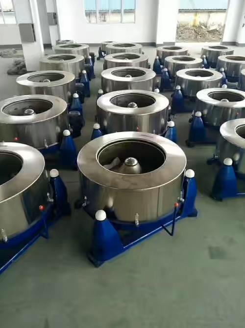 扬州海狮大型工业脱水机-离心甩干机-酒店桌布洗涤离心脱水机 大型甩干机 脱水机厂家示例图6