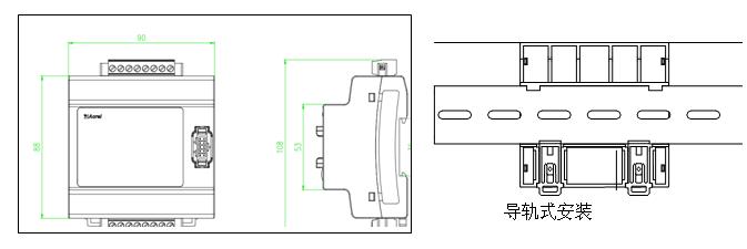 安科瑞AFPM3系列消防设备电源监控主模块,厂家直销示例图5