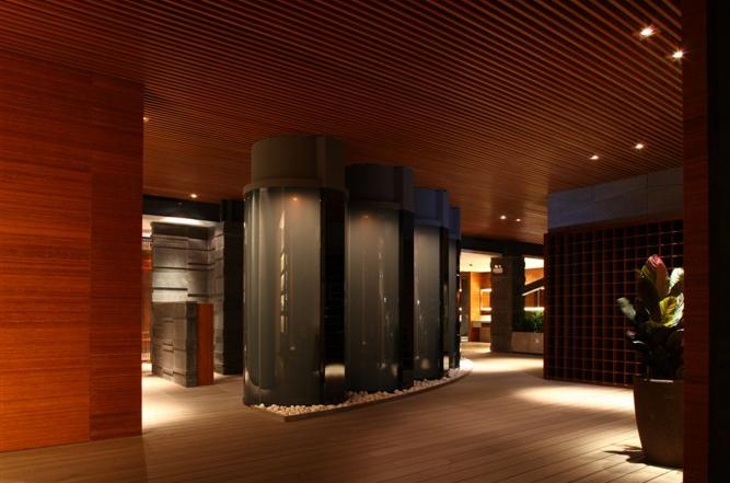 彩色鋁方通格柵吊頂綜合商業樓走廊過道天花裝飾廠家熱賣鋁方通示例圖10