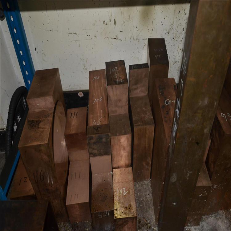 铬锆铜厂家,导热嘴用C18150铬锆铜实心棒示例图4