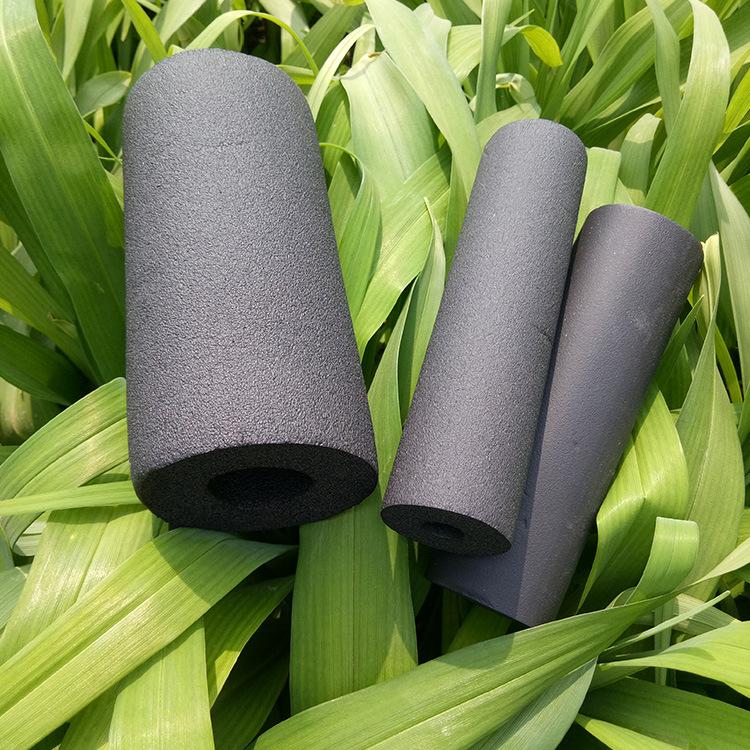 厂家直销彩色橡塑管保温材料耐高温隔热建材高密度橡塑保温管示例图8
