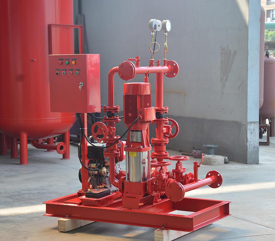 上海<strong>喜之泉专业生产销售DJ双动力消防泵</strong>,柴油机消防泵组,小型双动力消防泵,消防泵示例图3
