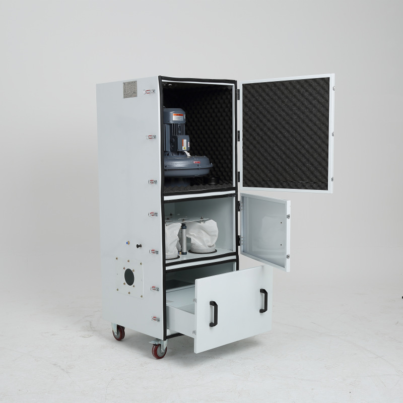 磨床粉尘集尘器 抛光打磨集尘机  车间扬尘吸尘器 漂浮粉尘除尘器示例图3