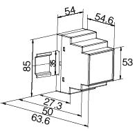 安科瑞ASJ20-LD1A智能剩余电流继电器示例图3