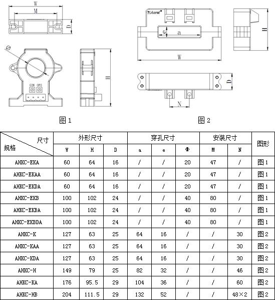 安科瑞霍尔开口式开环电流传感器示例图5