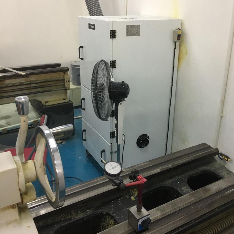 厂家直销磨床吸尘器  0.75kw磨床粉尘除尘器  JC-750-2砂轮机打磨集尘器   机床铝屑粉尘吸尘器移动式示例图12