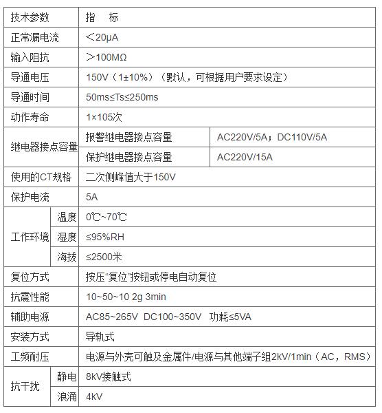 安科瑞ACTB系列电流互感器过电压保护器示例图1