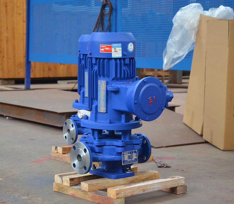喜之泉ISG(IRG不锈钢立式离心泵,不锈钢离心泵示例图2