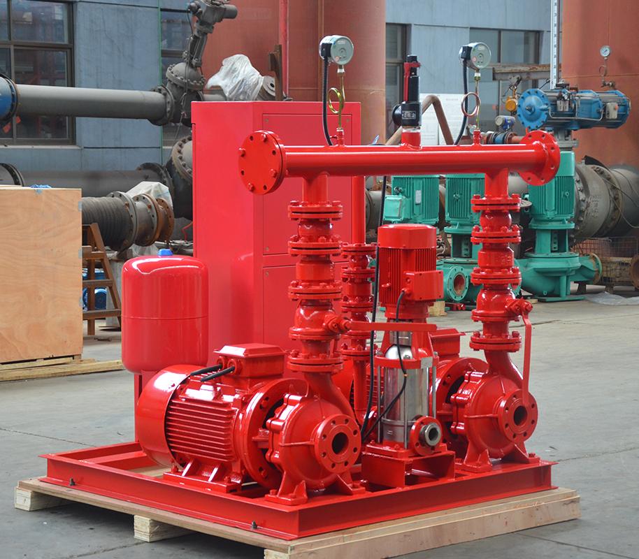 上海喜之泉EEJ3.0/15-2-GPM250 双动力消防泵,小型双动力消防泵,消防泵示例图3