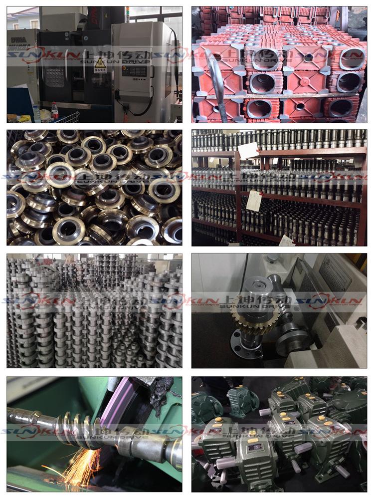 厂家特价 铸铁 蜗轮蜗杆法兰型WPDA/S/O/X减速机 批发 速比10-60示例图15