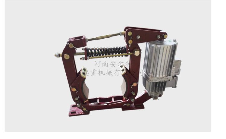 YWZ-150/25   电力液压块式制动器     双梁天车吊钩液压刹车  液压式推动机   抱闸  刹车示例图9
