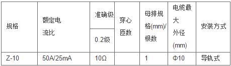 安科瑞,测量型电流互感器,AKH-0.66-40I,额定电流比10-75/5A示例图8