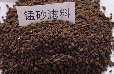 遂宁锰砂滤料,造价低,长效稳定锰砂滤料,地下水处理锰砂滤料示例图3