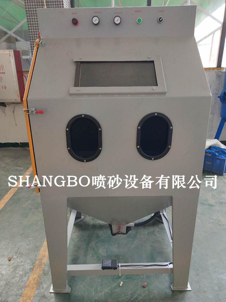 9060手动喷砂机环保节能喷砂机表面处理喷砂机示例图6