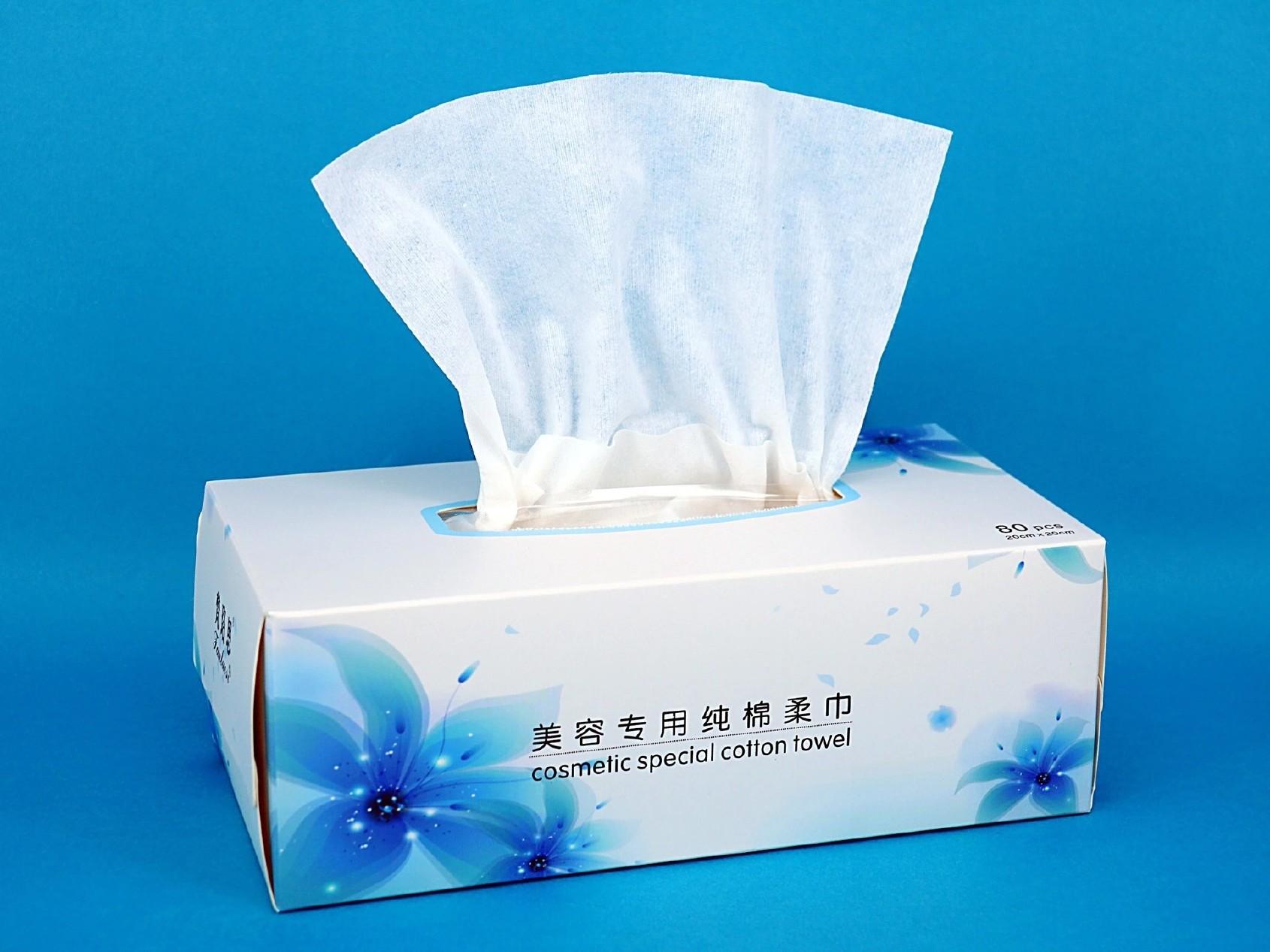梵珞思盒装全棉柔巾超柔软一次性洗脸巾纯棉洁