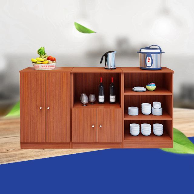 2018新款储物柜  简约厨房收纳餐边柜  多功能中式家具餐边柜