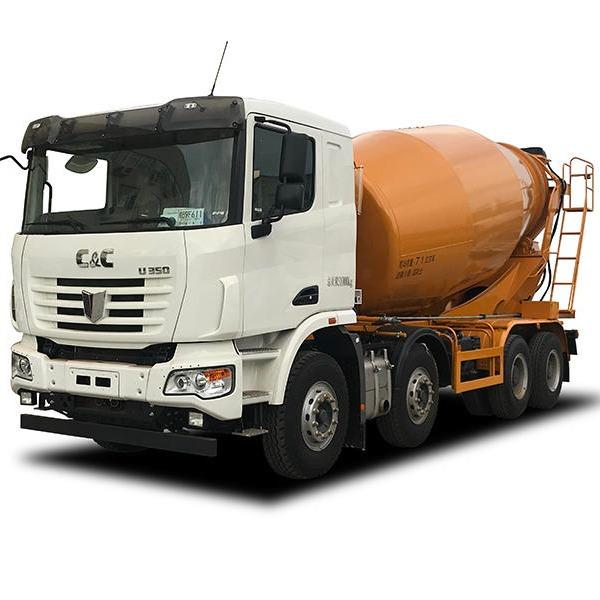 聯合卡車14方輕量化混凝土攪拌車_吉瑞聯合_攪拌車價格