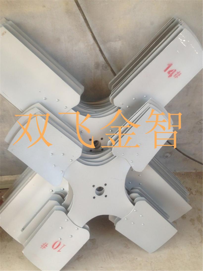 冷却塔扇叶玻璃钢冷却塔风机冷却塔电机风机厂家图片