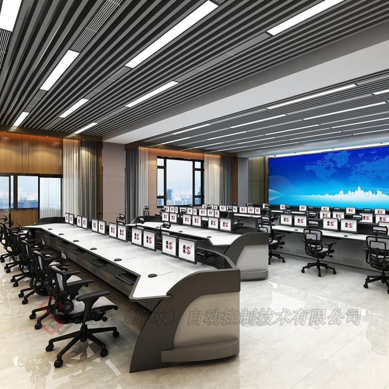多联调度控制台指挥操作台单联多位均可制作钢木铝材质优质广东品牌