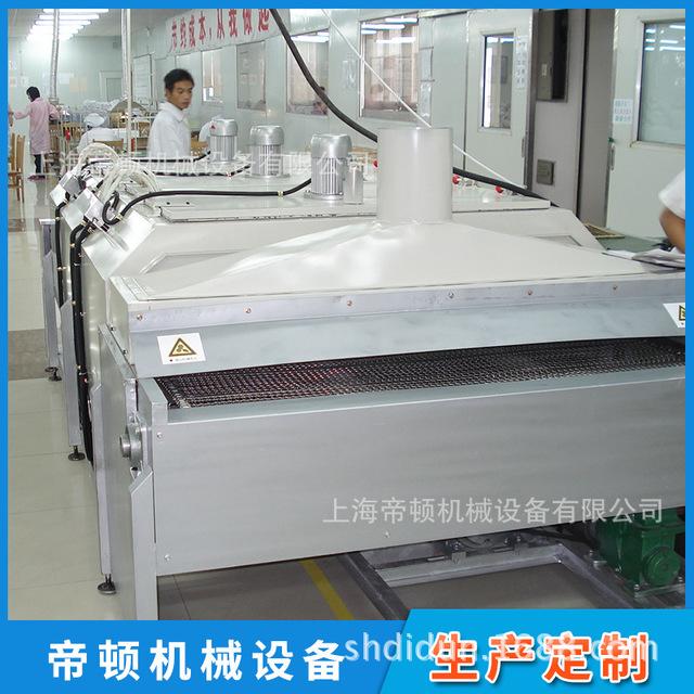 厂家直销 隧道式烘箱输送线 电路板烘烤碳钢网带输送线