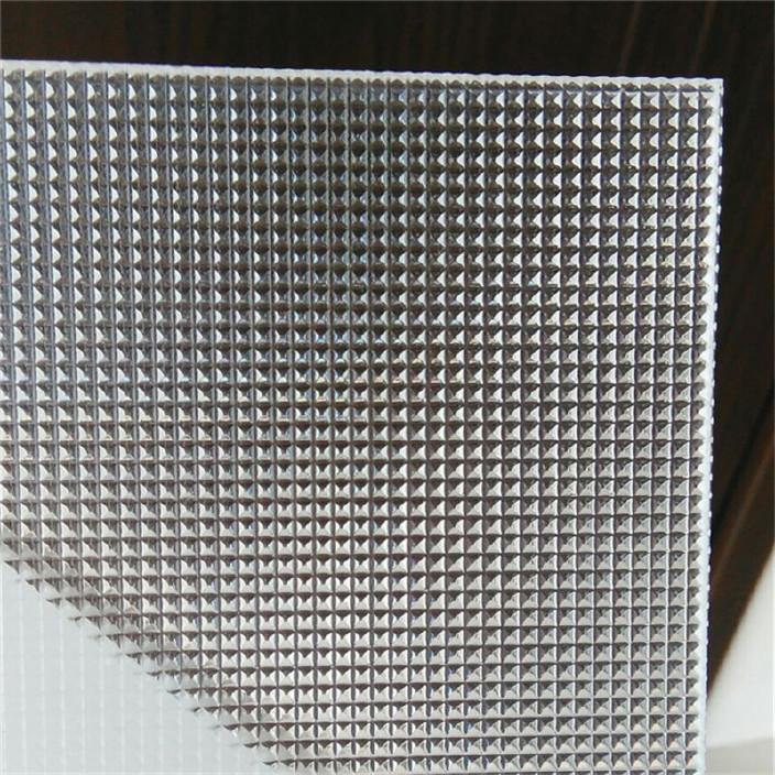 厂家直销棱镜pc板 装饰pc耐力板 2mmpc棱镜板 耐力板厂家定制图片