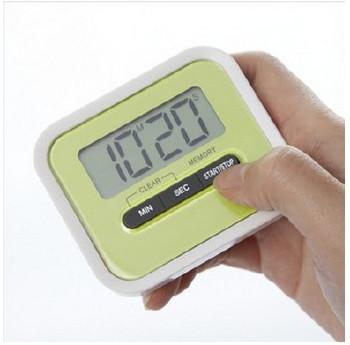 115磁鐵支架廚房定時器 懶人烹飪電子計時器 實驗室學生提醒器圖片