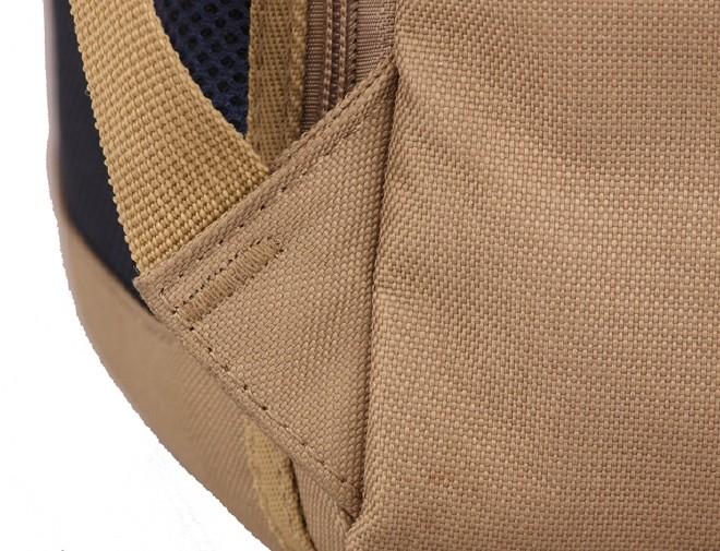 2016新款简约纯色双口袋背包 时尚休闲款运动包学生书包直销示例图32