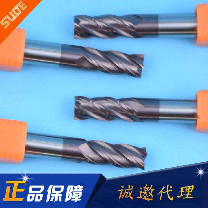 厂价批发55度钨钢铣刀 数控钨钢铣刀 硬质合金铣刀 涂层平底铣刀