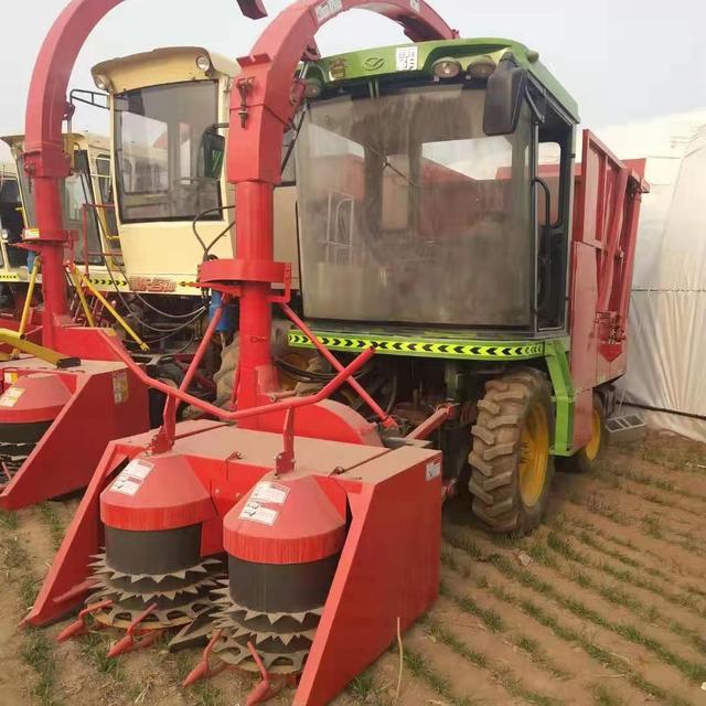 農作物秸稈粉碎收獲機 玉米秸稈切碎回收機 大功率圓盤式青儲機 銅誠環衛