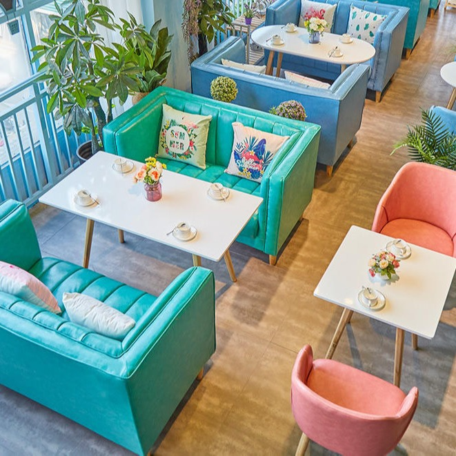 深圳多多乐西餐厅卡座沙发定制制造厂家供应实木复古咖啡厅餐桌 大理石餐厅桌椅 主题实木餐桌椅  主题风西餐厅餐桌椅子
