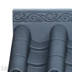 安徽一体屋檐仿古瓦  仿古围墙装饰瓦 中式拼接一体瓦