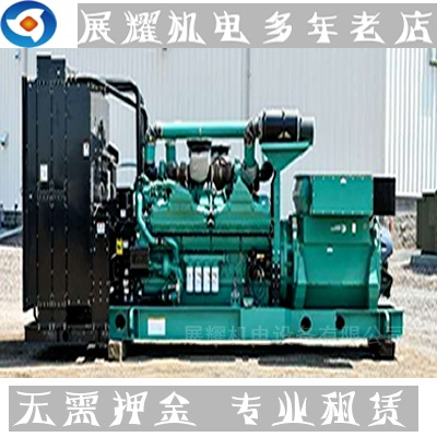 惠州柴油发电机出租,惠州发电机租赁