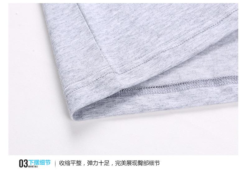 2017春夏男t恤 �r冷光尚日系男�b�色翻�I��sT恤衫 精梳棉我修��修身款t恤示例�D21