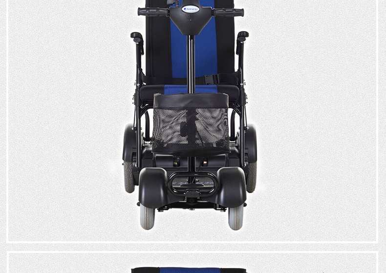包邮上海互邦电动轮椅HBLD4-E轻便可折叠老年残疾人代步车家用示例图40