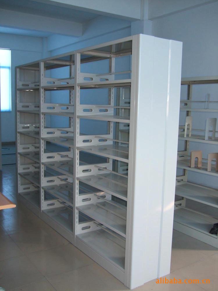 【厂家直销】佛山出口复柱式图书架、报刊架、杂志柜(保修十年)示例图2