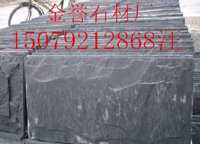 江西青石板,江西黑色青石板,绿色青石板,锈色青石板厂家价格,金誉石材厂示例图6
