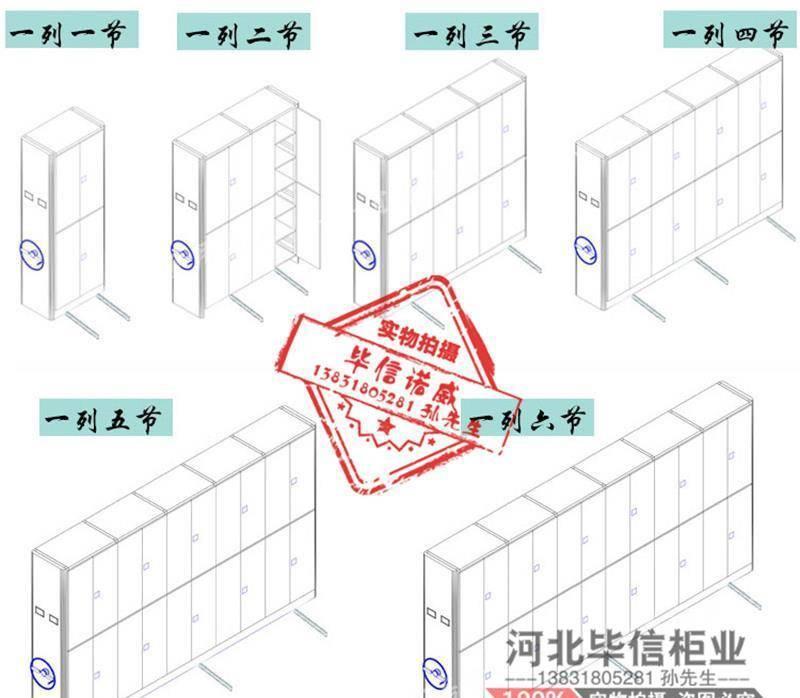 毕信诺威 档案密集柜厂家直销示例图3