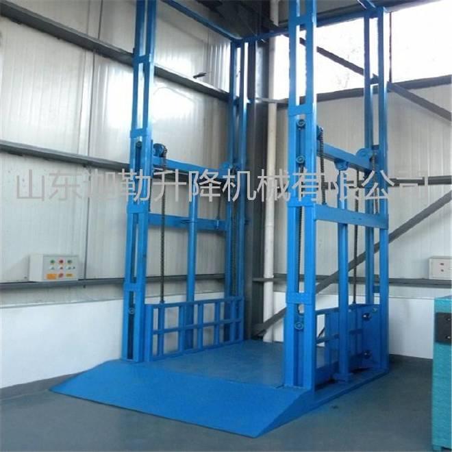 供应聊城导轨式升降货梯 液压装卸平台生产商示例图7