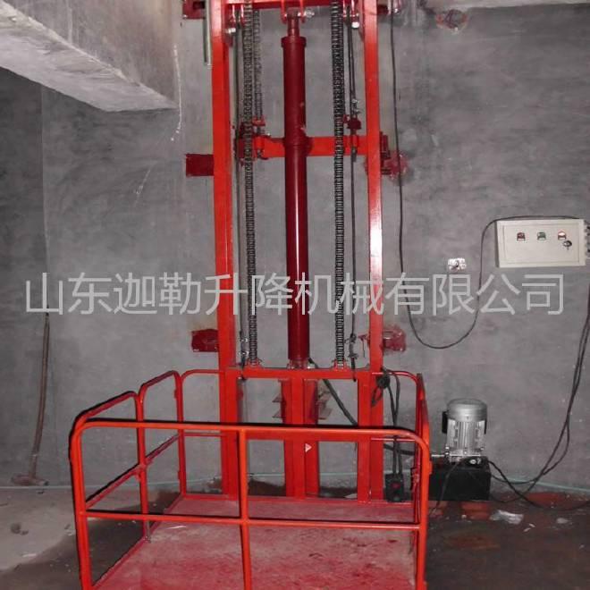 供应潍坊导轨式升降货梯升降机厂家订购示例图6