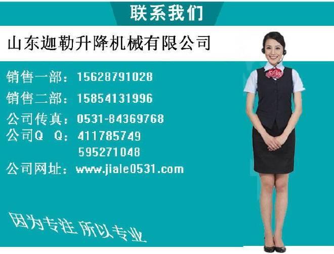 供应潍坊导轨式升降货梯升降机厂家订购示例图13