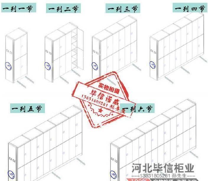 密集柜源头厂家 河北毕信柜业有限公司 13831805281示例图3