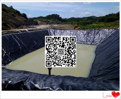 海南沼气池防渗膜生产厂家供应商直销美标黑色光面1.5mmhdpe防渗膜示例图7