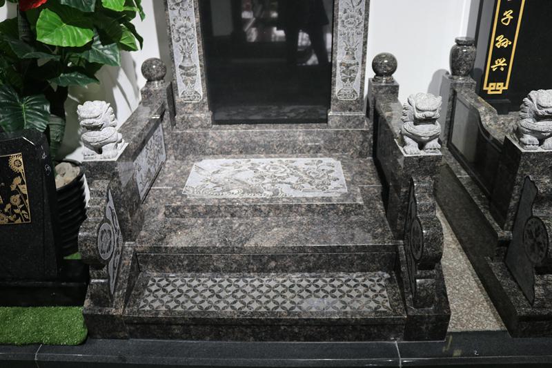 广东传统墓碑豪华碑艺术墓碑家族墓碑厂家直销批发示例图9