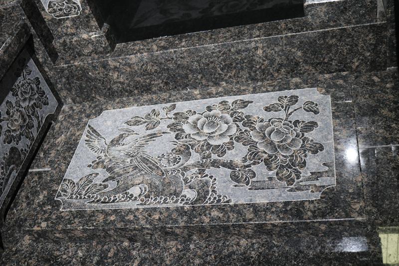 广东传统墓碑豪华碑艺术墓碑家族墓碑厂家直销批发示例图7