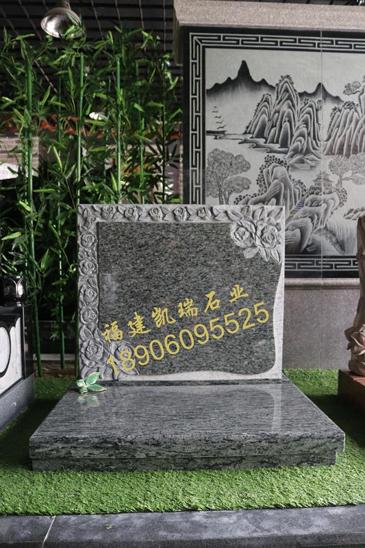 凯瑞墓碑厂家直销艺术墓碑 节地生态碑 个性化墓碑定制示例图2