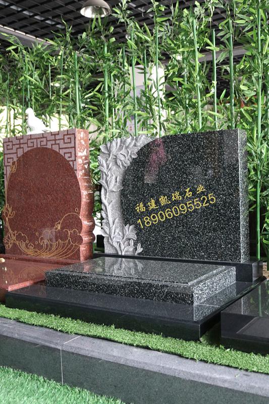 凯瑞墓碑厂家直销艺术墓碑 小型生态墓碑 量大可定制个性化墓碑示例图5